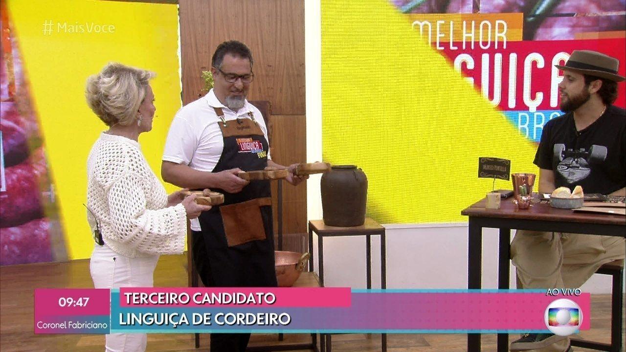 Reginaldo do Nascimento é finalista do 'A Melhor Linguiça do Brasil'