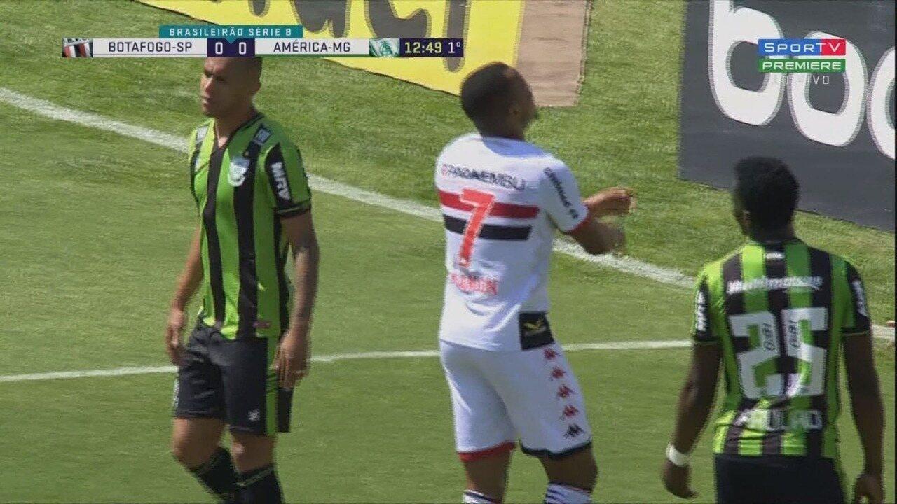 Melhores momentos de Botafogo-SP 0 x 0 América-MG, pela 21ª rodada da Série B