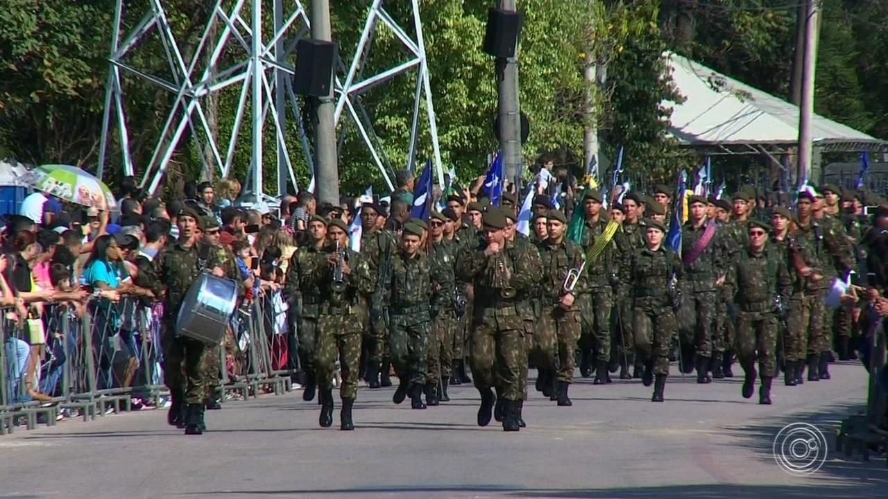 Dia da Independência é comemorado em desfile cívico em Jundiaí
