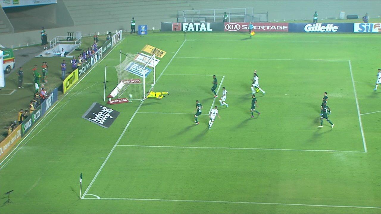 Melhores momentos de Goiás 1 x 2 Palmeiras pela 18ª rodada do Campeonato Brasileiro