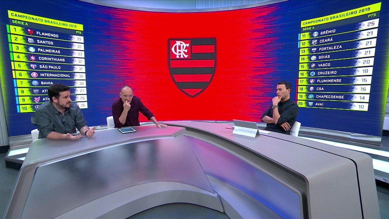 Comentaristas analisam o desempenho do Flamengo no Campeonato Brasileiro