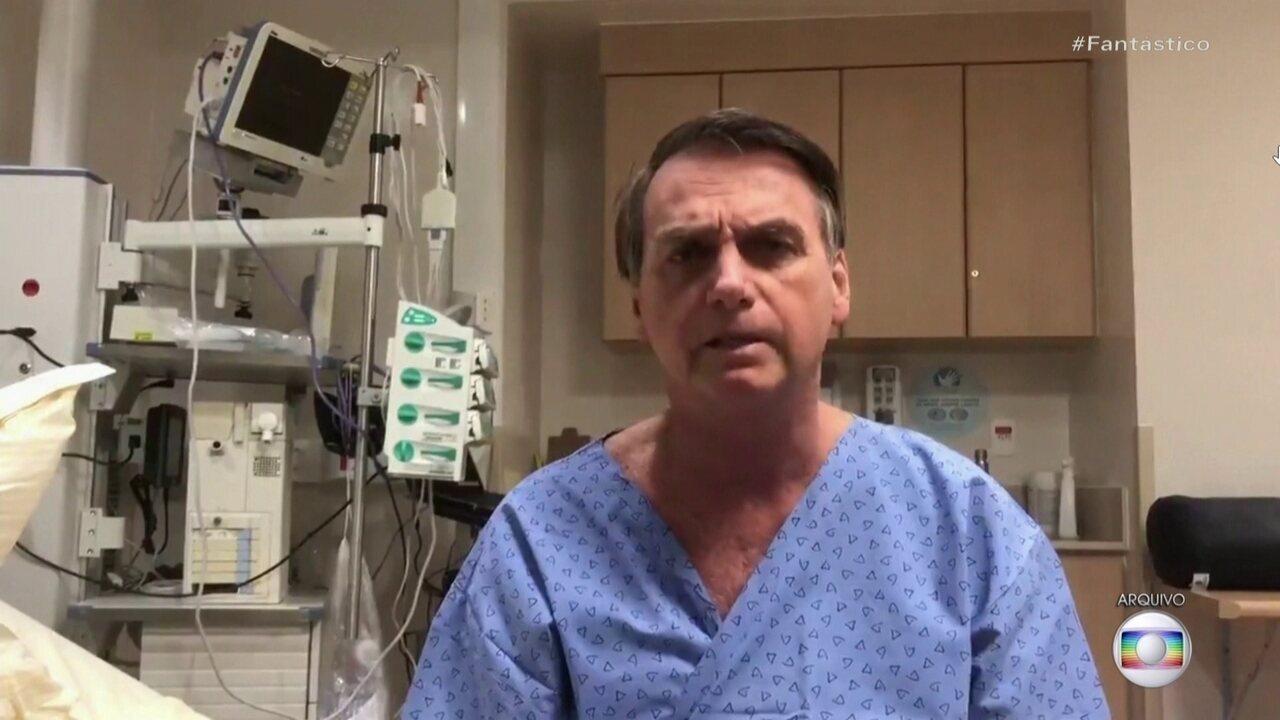 Presidente Jair Bolsonaro se recupera, em SP da cirurgia para corrigir hérnia incisional