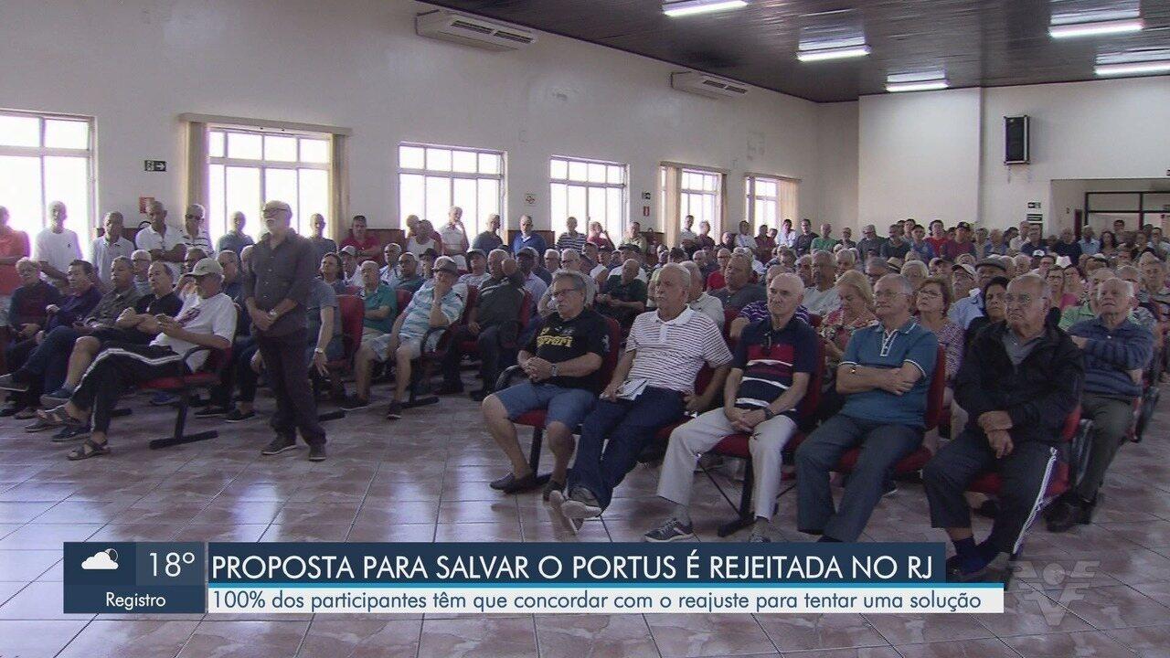 Assembleia discute plano de previdência dos portuários de Santos
