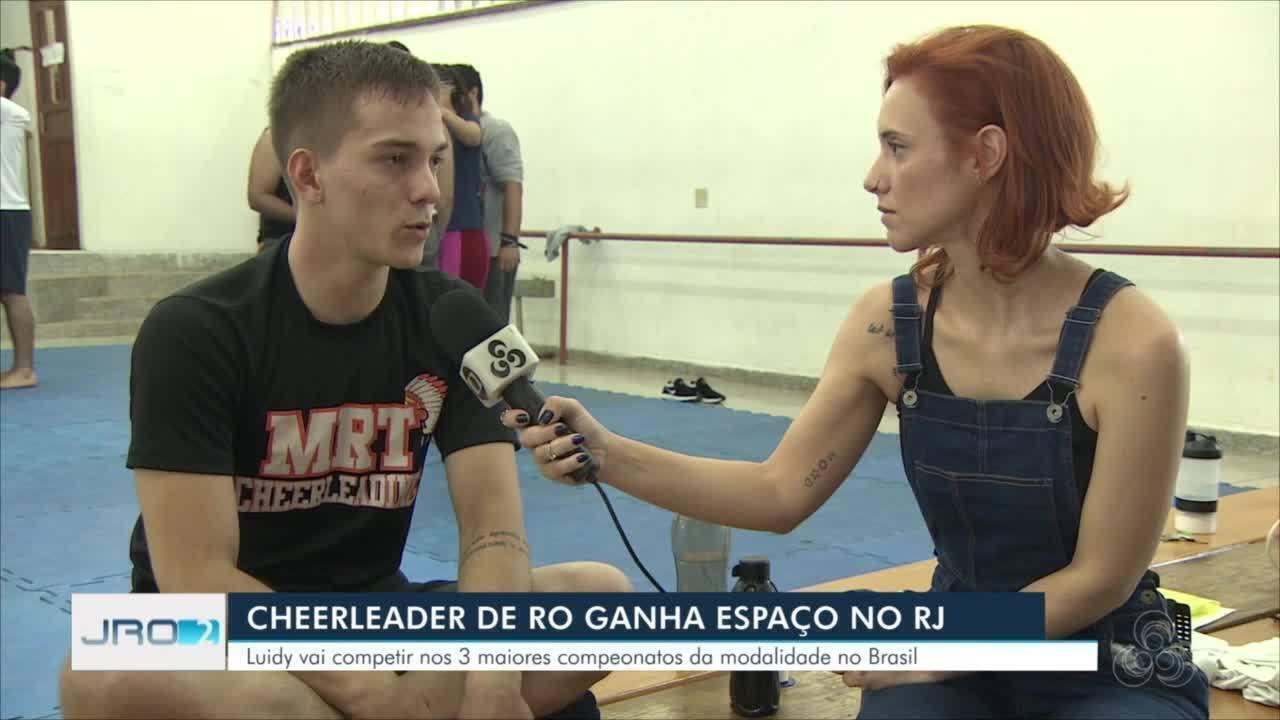 Cheeleader de Rondônia ganha espaço no Rio de Janeiro
