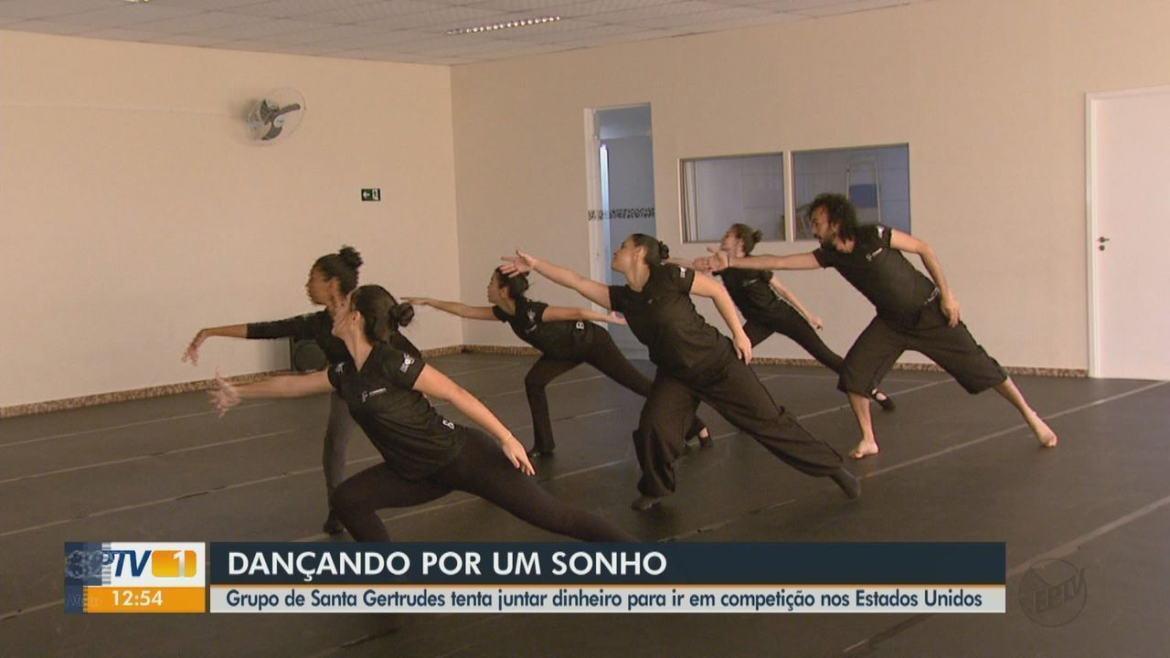 Grupo de bailarinos de Santa Gertrudes é selecionado para competir nos Estados Unidos