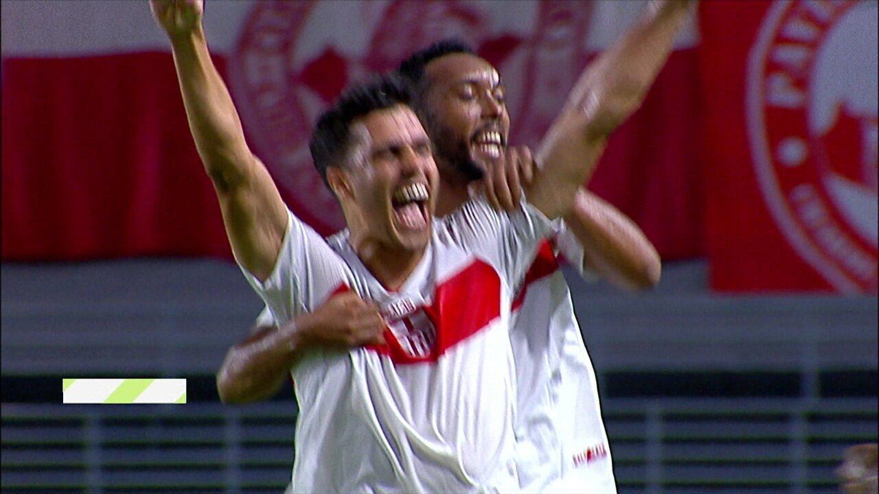 Os gols de CRB 3 x 1 Brasil-RS pela 22ª rodada da Série B do Brasileiro
