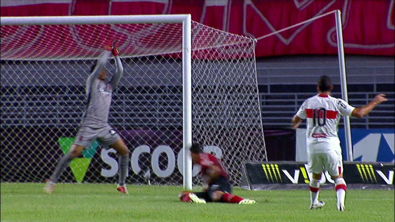 Melhores momentos: CRB 3 x 1 Brasil-RS, pela 22ª rodada da Série B do Brasileiro