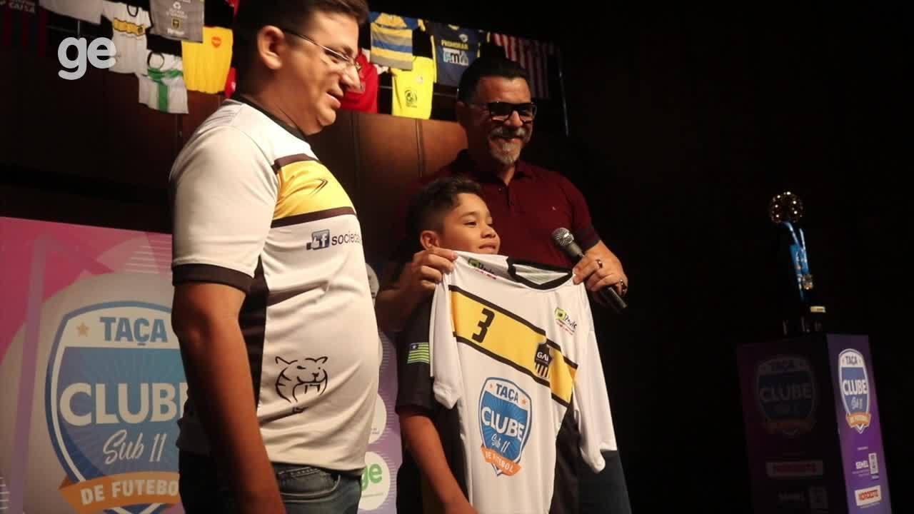 Com Ricardo Rocha, Taça Clube sub-11 é aberta com 36 escolinhas de futebol