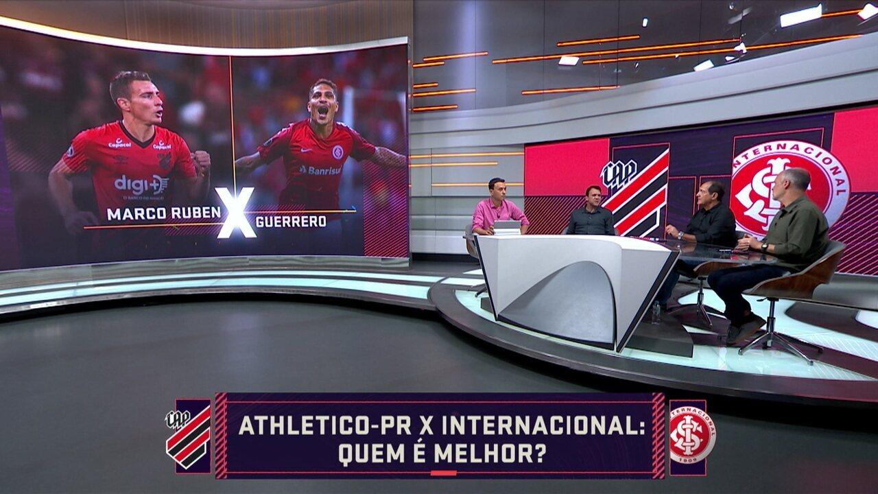 Quem é melhor? Seleção SporTV analisa jogadores de Athletico-PR e Internacional