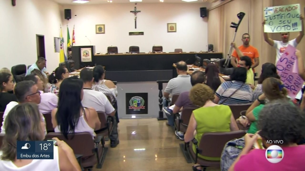 Vereadores de Embu-Guaçu decidem de prefeita continua ou não no cargo