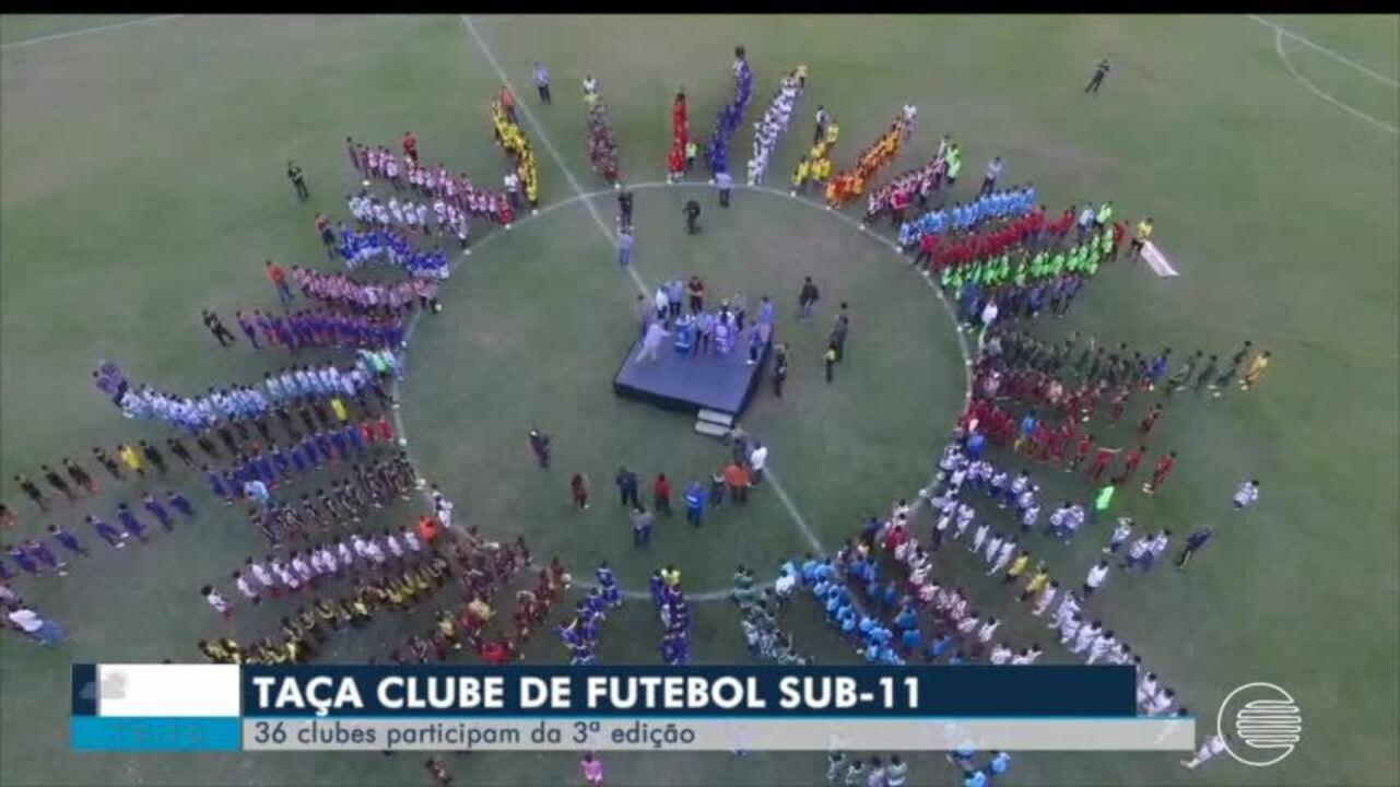 Taça Clube Sub 11 começa e reúne 36 escolinhas