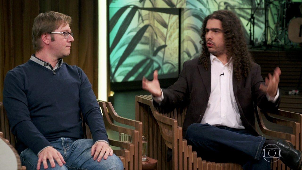 Reinaldo e Pirula fala sobre a relação entre Evolucionismo e religião