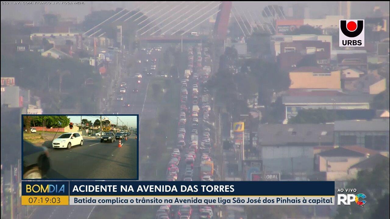 Trânsito deixa trânsito lento na Av. Comendador Franco