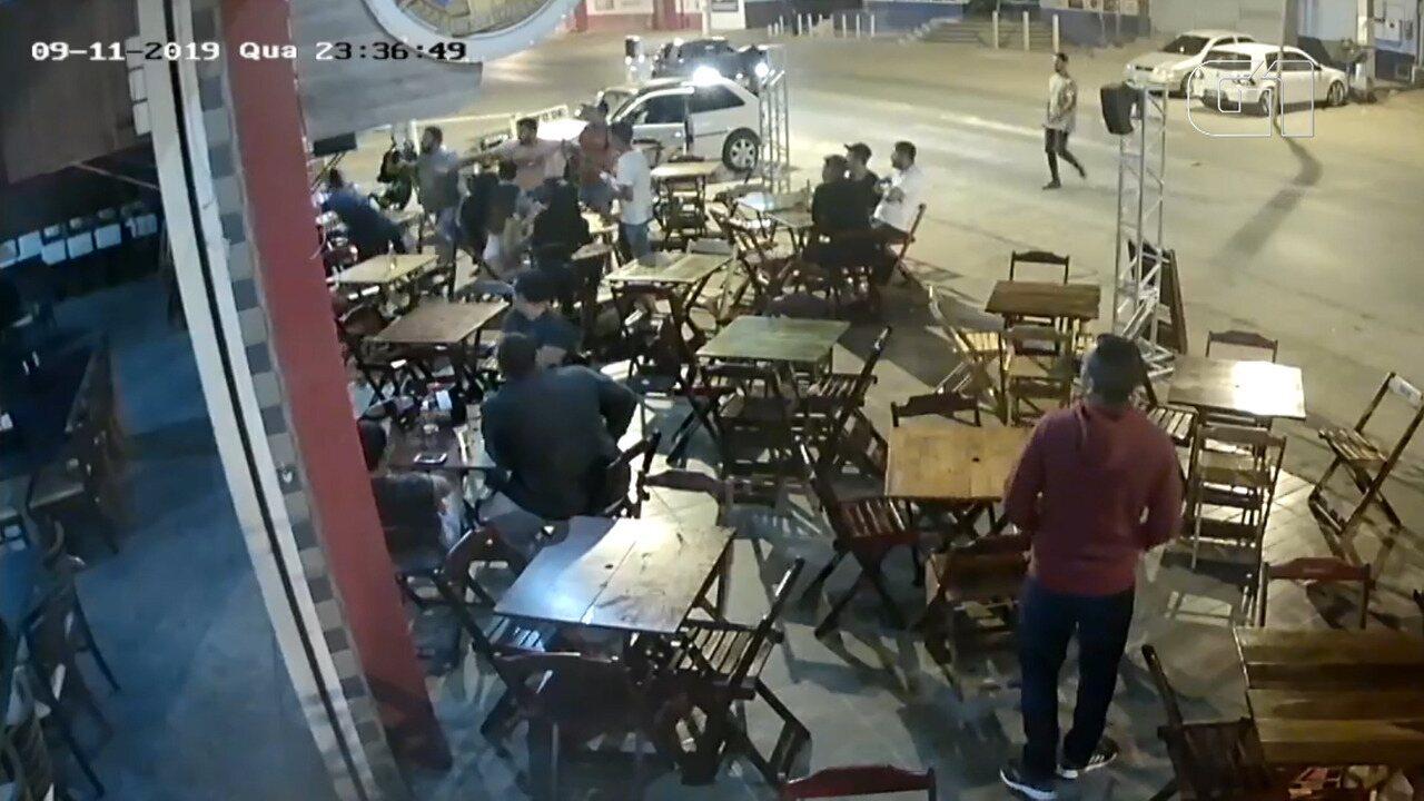 Briga em bar em Irecê