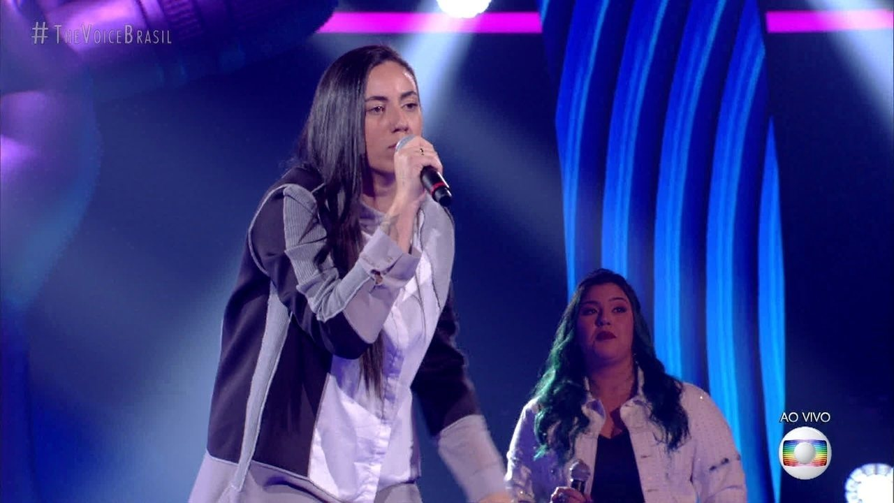 "Pâmella Lopes canta ""Don't Wanna Fight"""