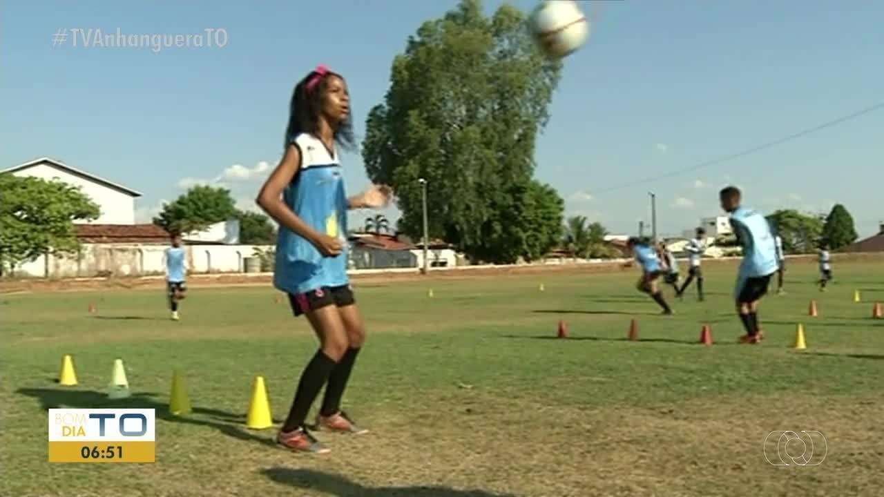 Sparta Futebol Clube monta equipe feminina de futebol em Araguaína