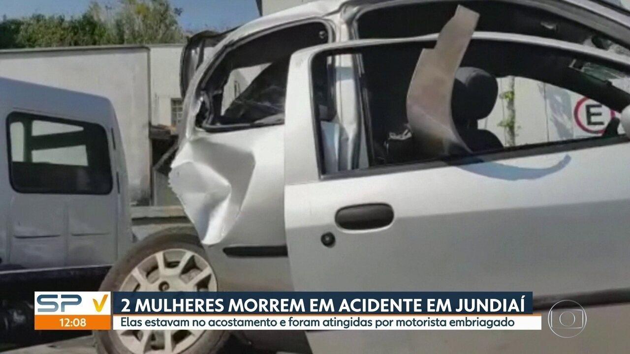 Duas mulheres morrem atropeladas em Jundiaí