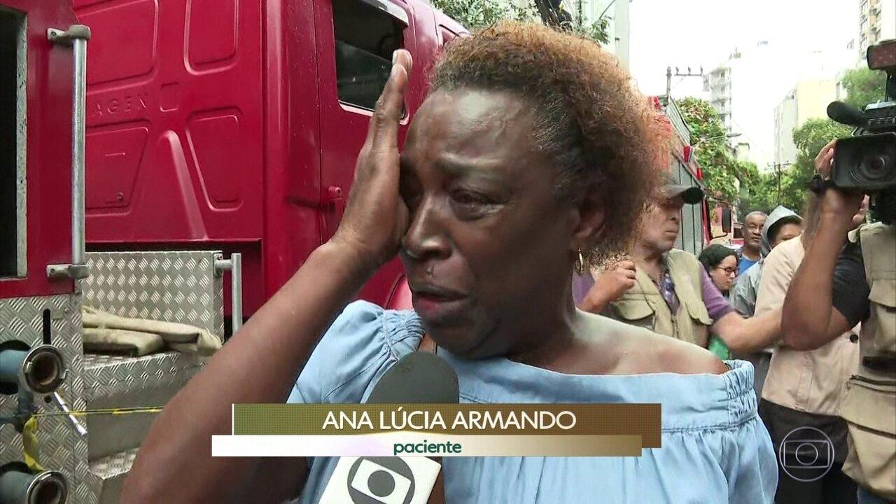 Termina perícia no hospital Badim, que pegou fogo no Rio de Janeiro