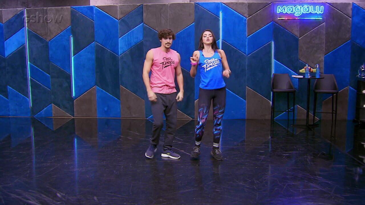 Veja o ensaio de Bruno Montaleone e Jaqueline Ciocci para o forró no 'Dança dos Famosos'
