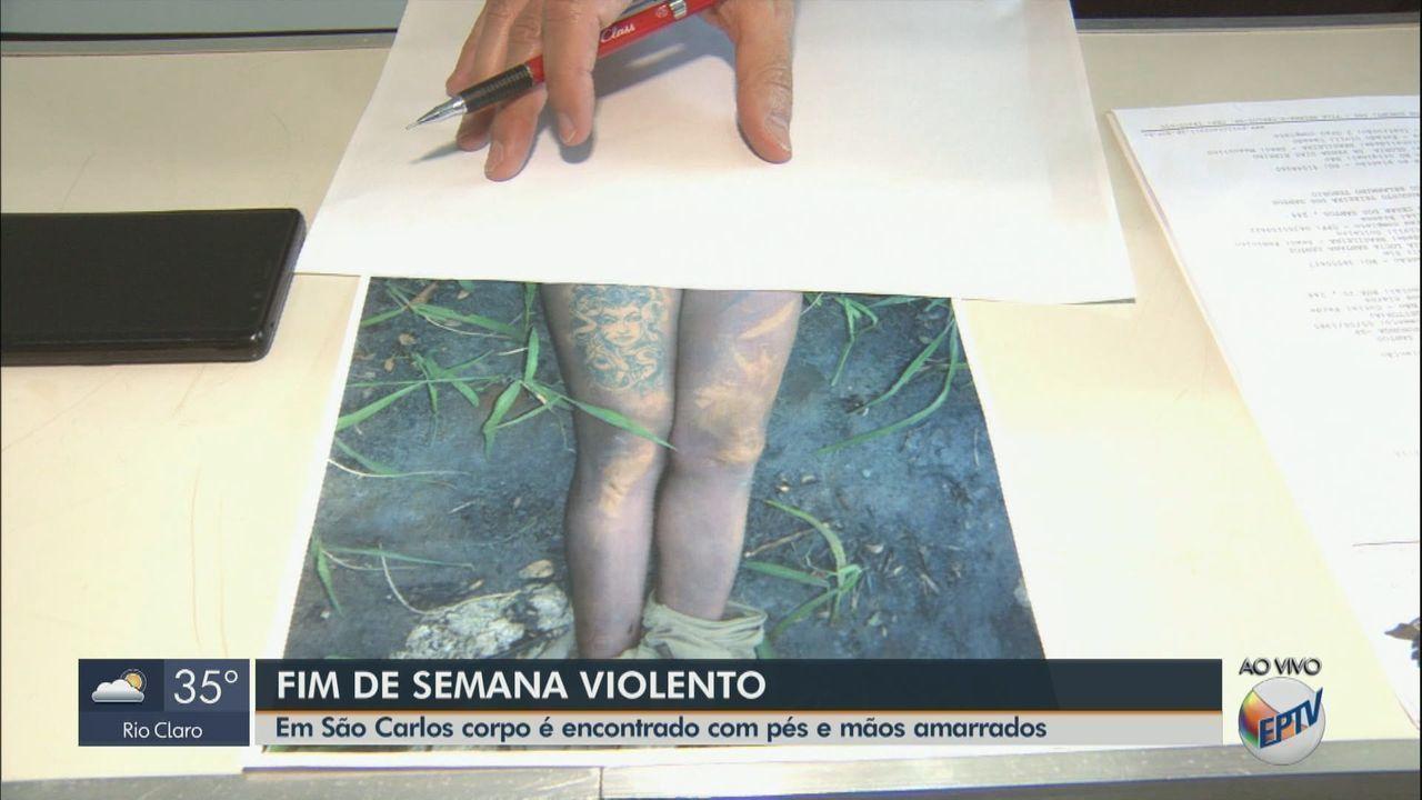 Corpo com mãos e pés amarrados é encontrado às margens da rodovia SP-215 em São Carlos