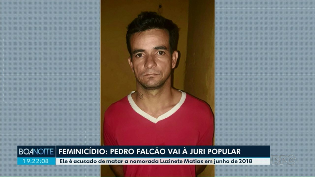 Pedro Falcão vai à juri popular