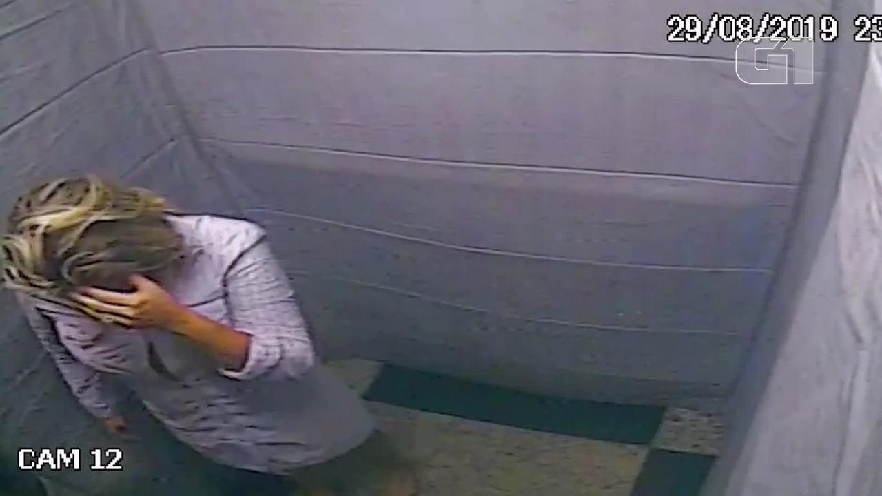 Vídeo mostra empresária cearense sendo agredida dentro de carro e retirando aliança em elevador