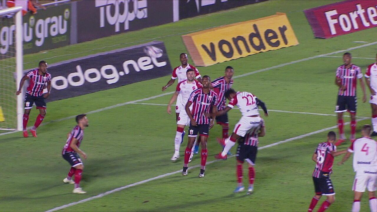 Melhores momentos: Vila Nova 0 x 2 Botafogo-SP pela 23ª rodada da Série B do Brasileiro