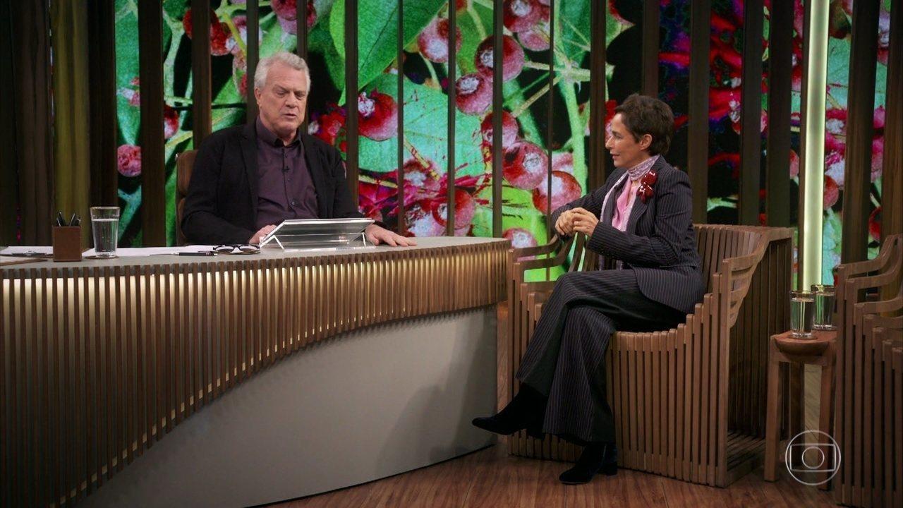 Pedro Bial resgata e exibe ao público uma entrevista de Hebe e Andréa em 1990