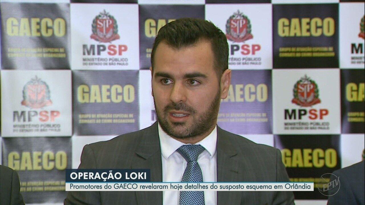 Promotores do Gaeco revelam fraudes investigadas na Prefeitura de Orlândia, SP