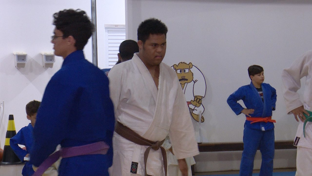 Único judoca de Roraima com síndrome de down, Didiê se prepara para os próximos desafios