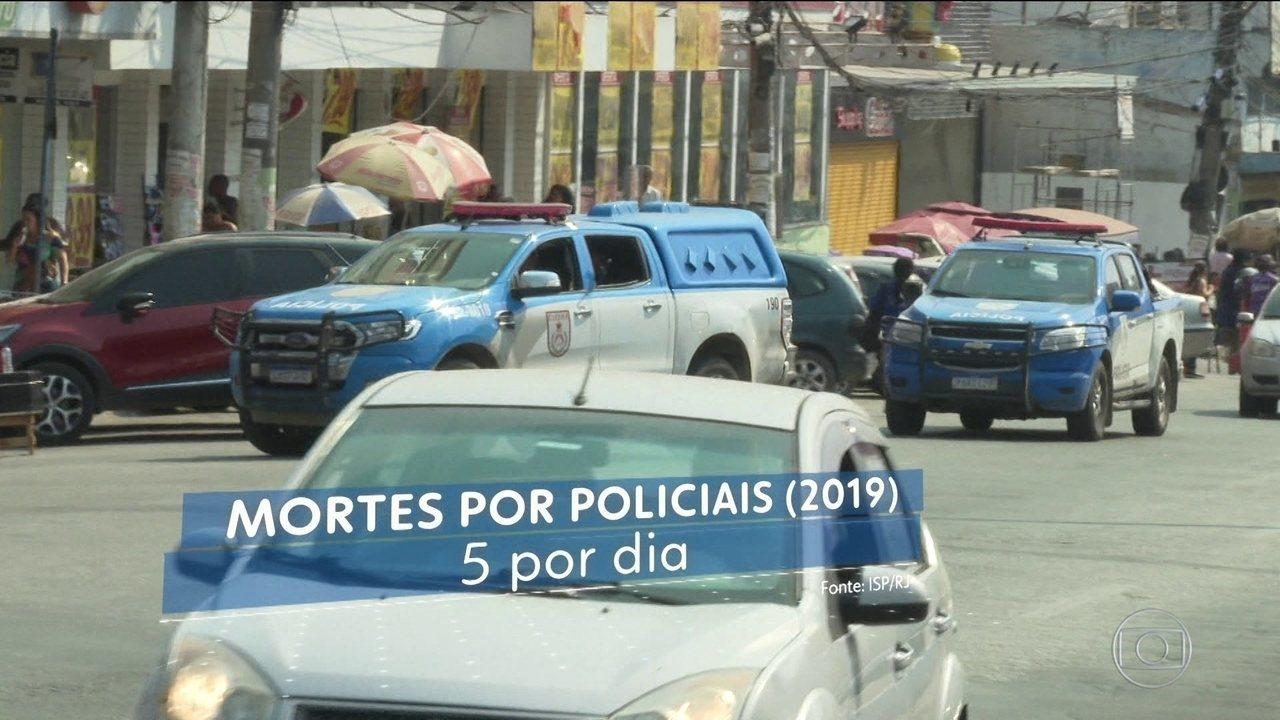 Rio bate recorde de mortes por policiais nos primeiros oito meses do ano