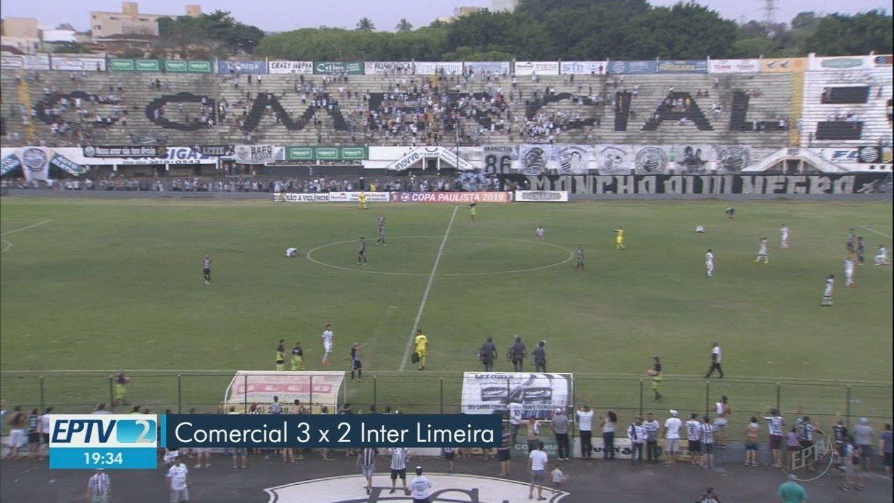 Comercial vence a Inter de Limeira e garante classificação na Copa Paulista