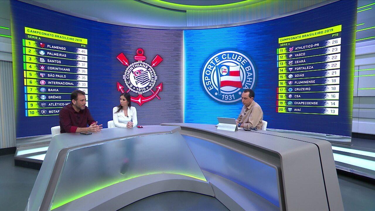 Comentaristas analisam vitória do Corinthians