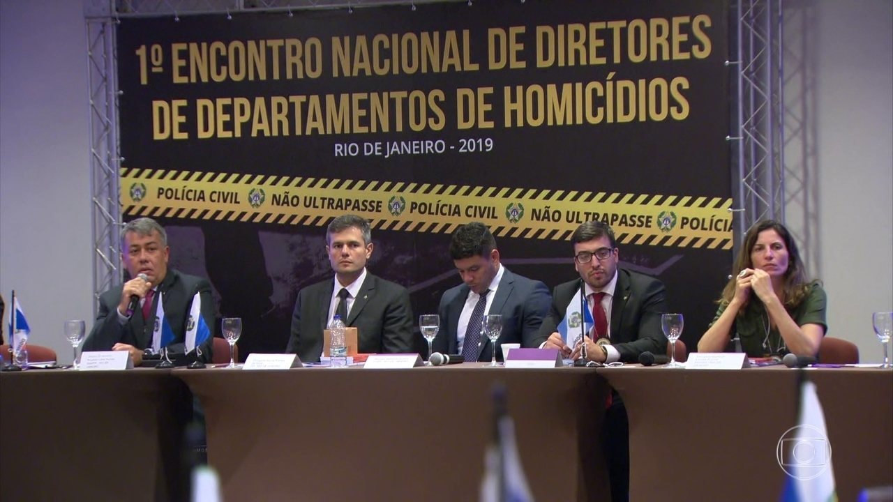 Delegados vão apresentar medidas que podem ajudar a esclarecer homicídios no país