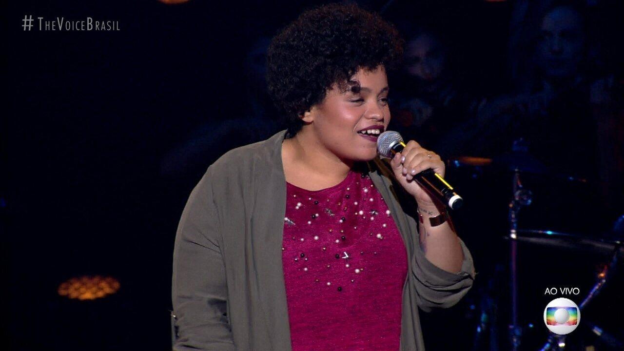 """Samara Alves canta """"Por Enquanto"""""""