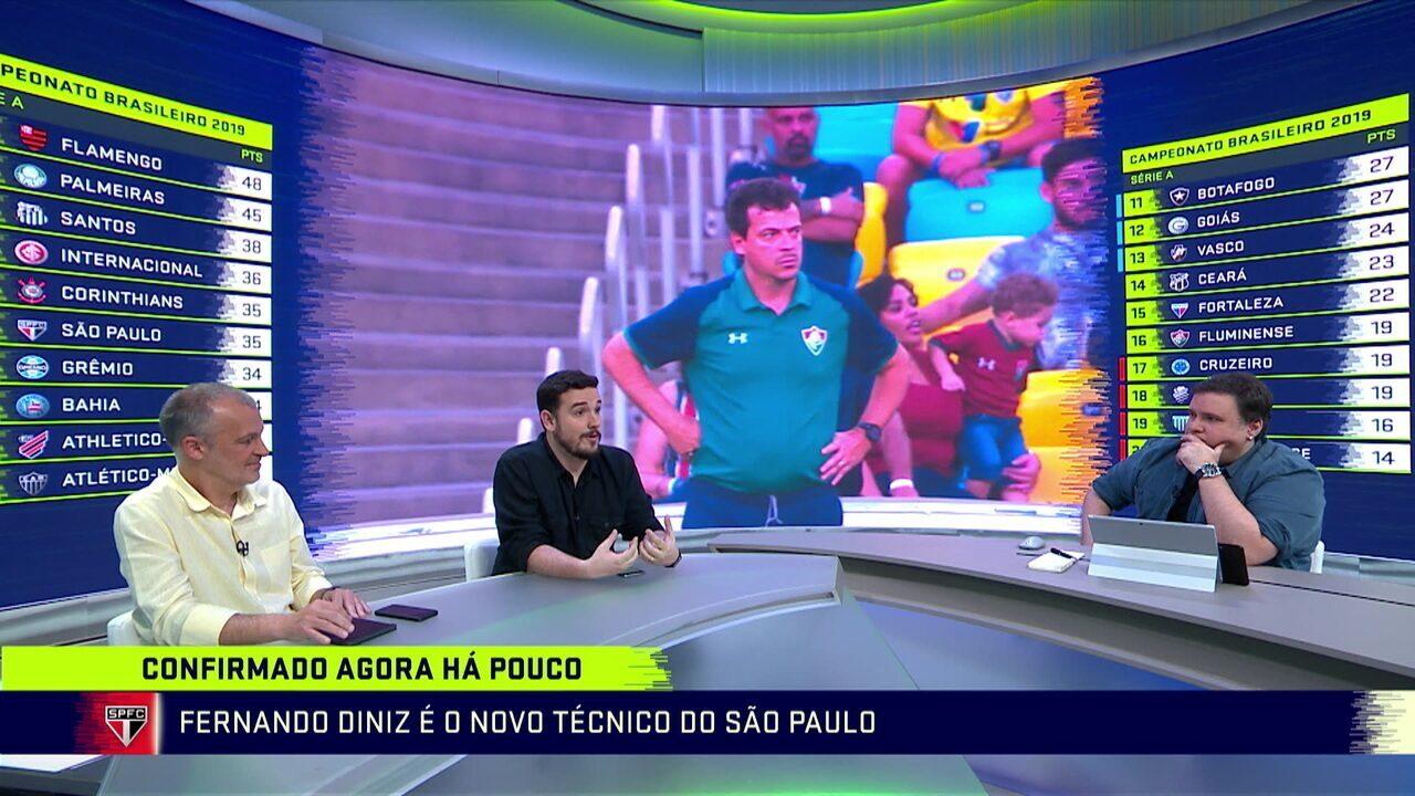 Fernando Diniz é o novo técnico do São Paulo