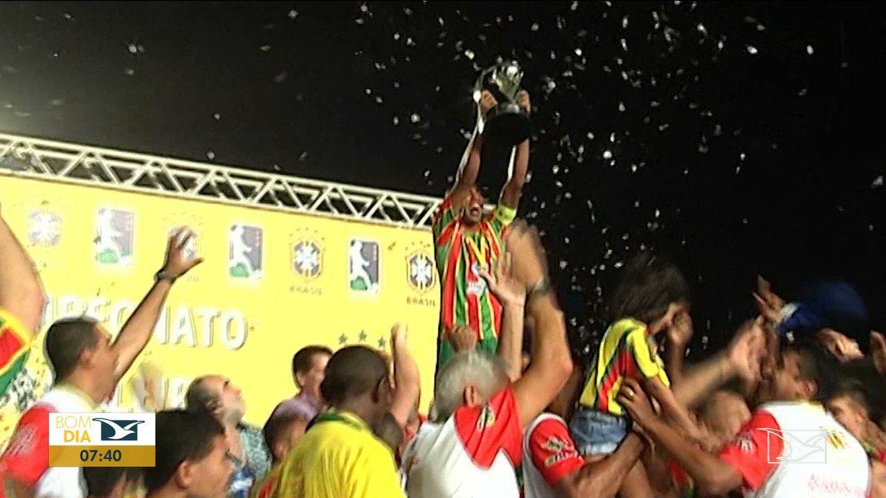 Três títulos do Sampaio em casa foram conquistados em São Luís
