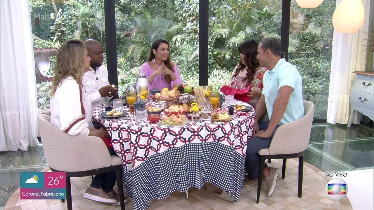Café da manhã com Fernanda Gentil, Fabiana Karla e Érico Brás