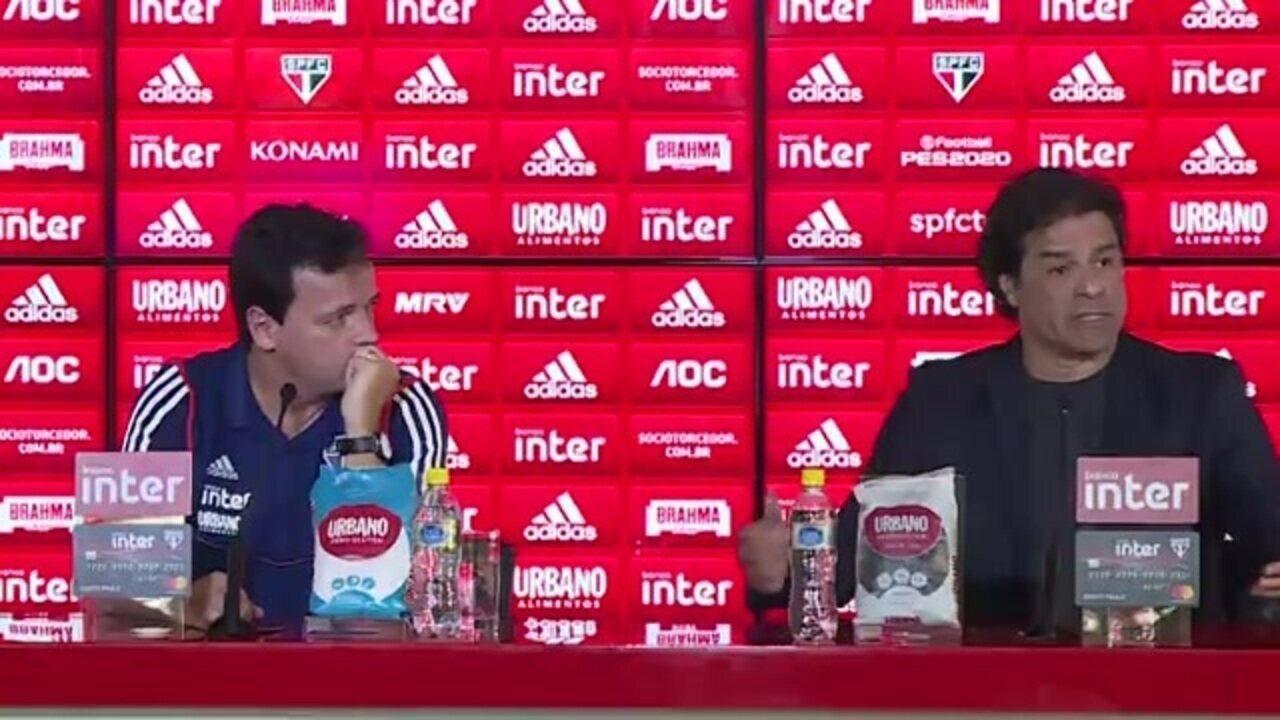 Raí diz que pedido de demissão do coordenador Mancini pegou São Paulo de surpresa