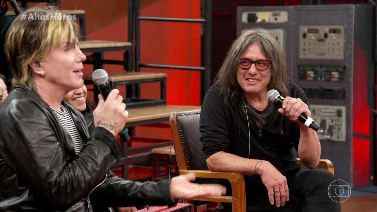 Johnny e Robby do Goo Goo Dolls comentaram sobre a sua primeira visita ao Brasil