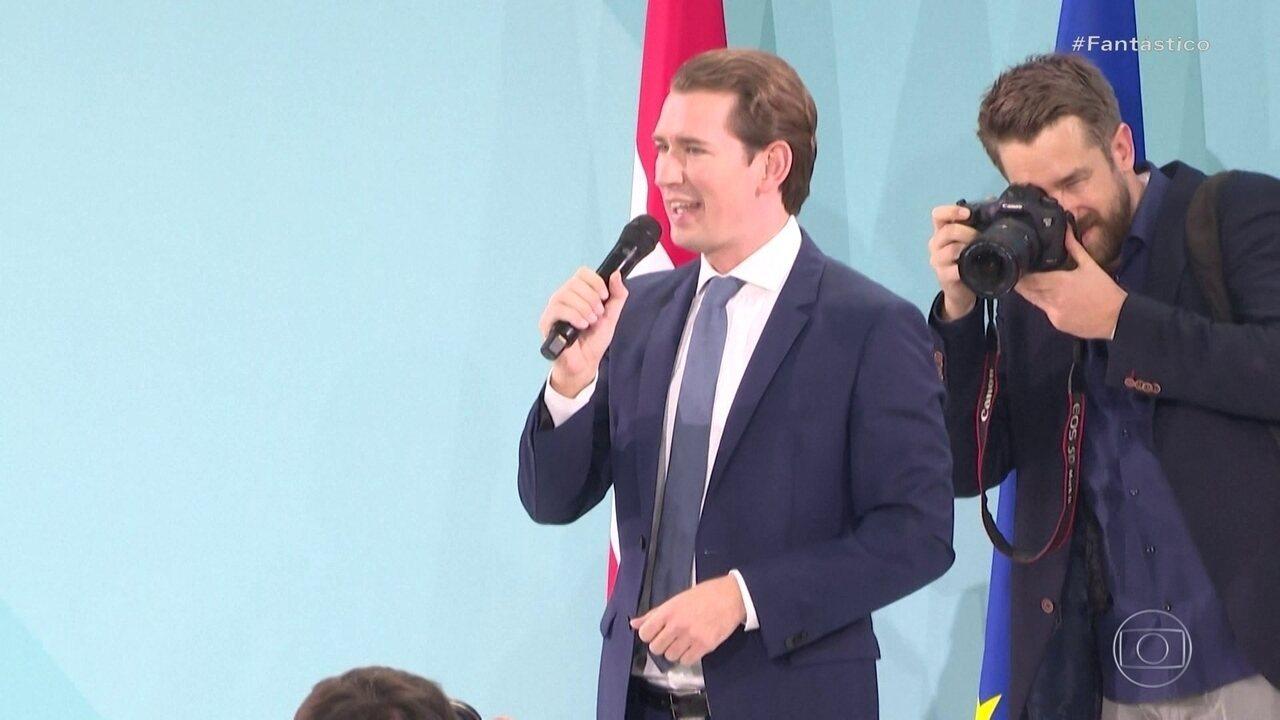 Conservadores vencem a eleição legislativa antecipada da Áustria