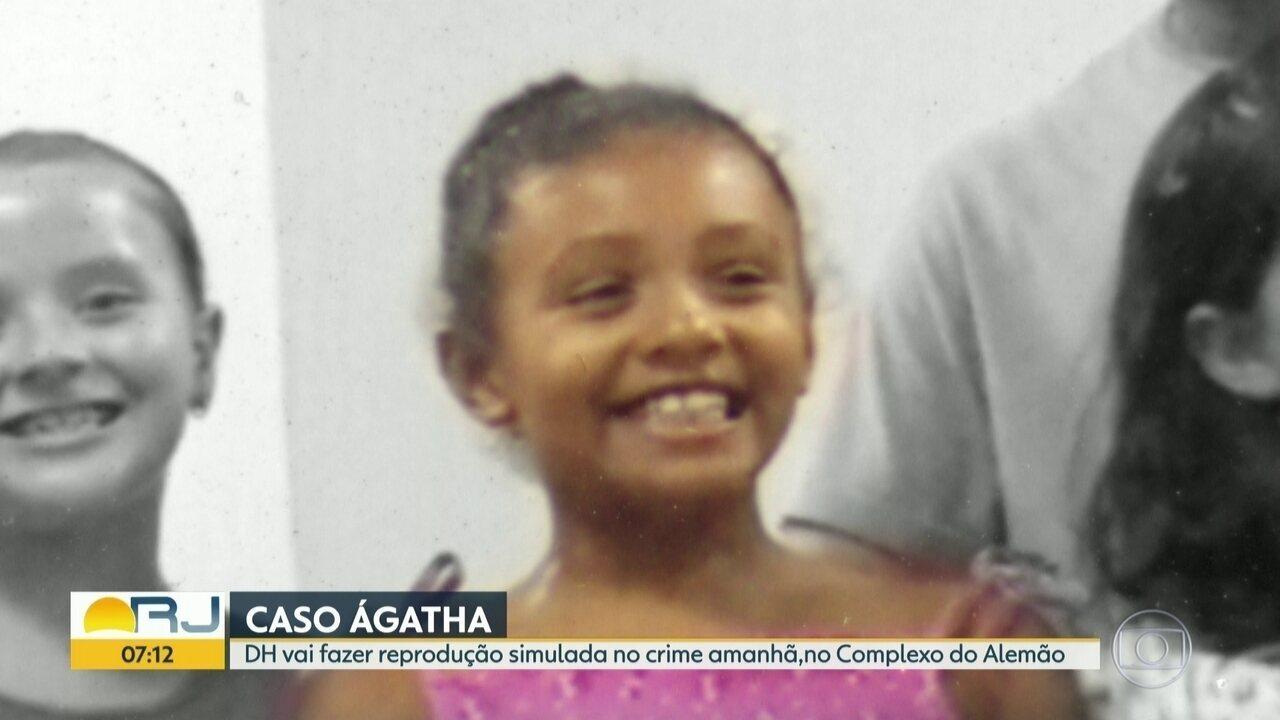 Delegacia de Homicídios fará reprodução simulada da morte da menina Ághata