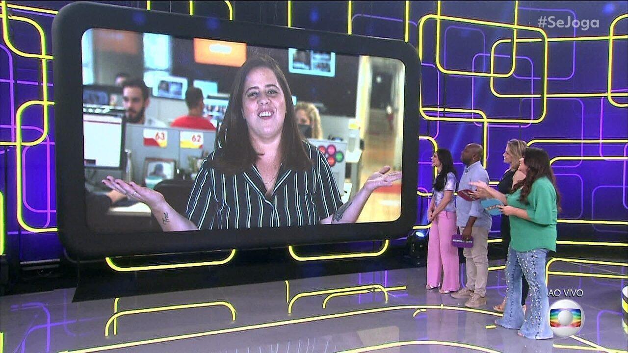 Gshow no 'Se Joga' estreia com Tati Machado contando as novidades do entretenimento