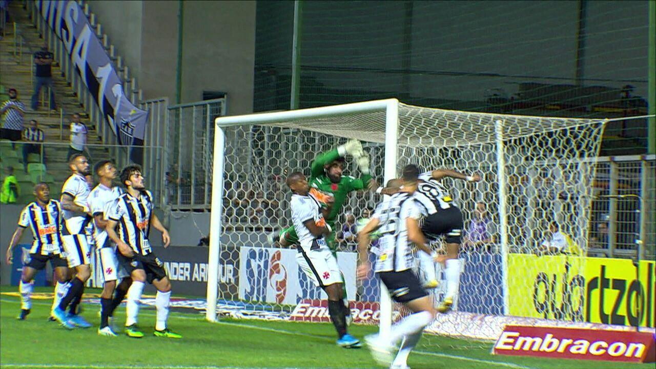 Melhores momentos: Atlético-MG 1 x 2 Vasco pela 21ª rodada do Brasileirão