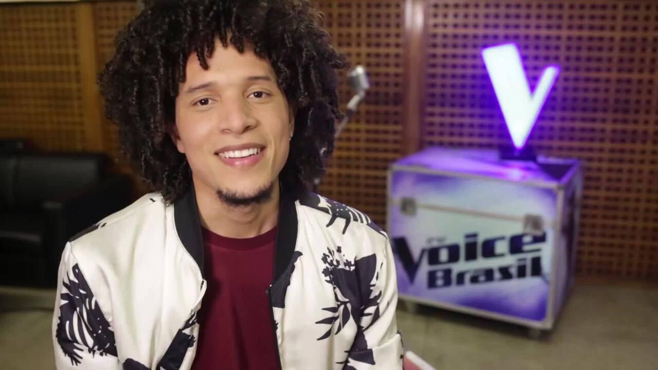 Confira a trajetória de Willian Kessley no The Voice Brasil