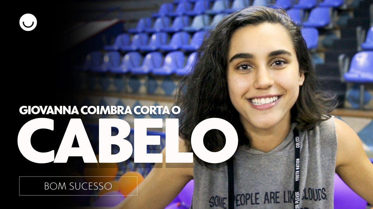 Giovanna Coimbra corta o cabelo em cena de 'Bom Sucesso'
