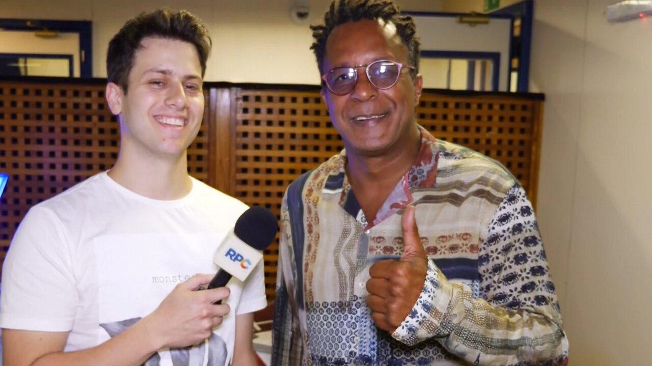 Leo Portiolli conversa com Tony Gordon, um dos finalistas do 'The Voice Brasil 2019'