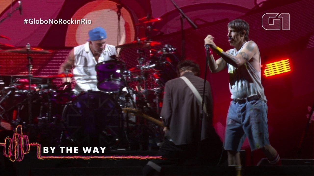 "Red Hot Chilli Peppers levanta o público com ""By The Way"""