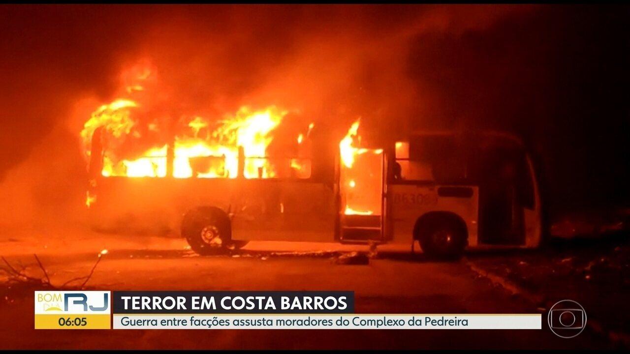 Guerra entre traficantes aterroriza moradores do Complexo da Pedreira