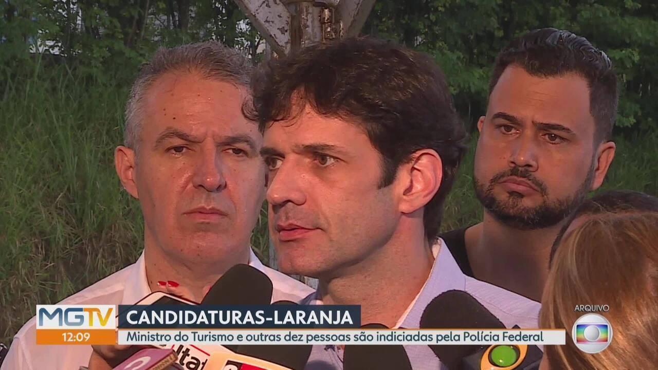 PF indicia ministro do Turismo e mais 10 por candidaturas-laranja no PSL em Minas